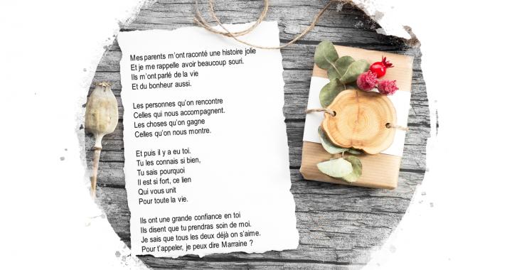 Textes Et Poèmes Demandeparrainmarraine